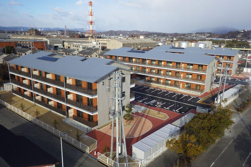 福島県買取型復興公営住宅(小名浜中原地区)
