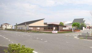 富岡町地域交流館建築パース